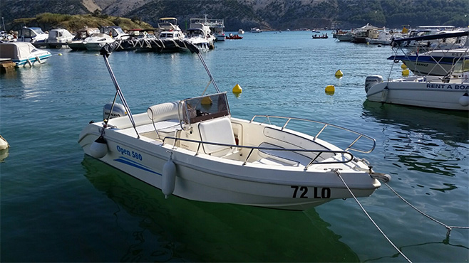 gs nautica 580